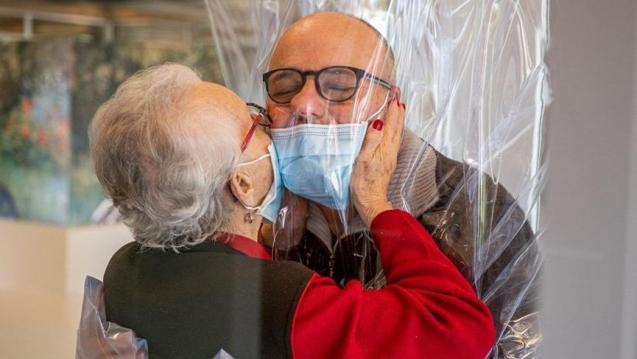 Corona virüsüne karşı sarılma odası kuruldu
