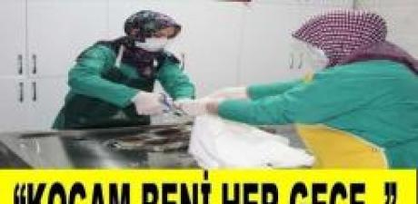Kadın Gassaldan Kan Donduran Sözler KOCAM BENİ HER GECE