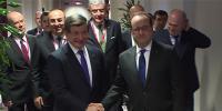Davutoğlu, Hollande ile görüşmesi