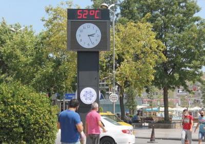 Sıcaklık mevsim normallerini aşacak! Termometre 52 dereceyi gösterdi